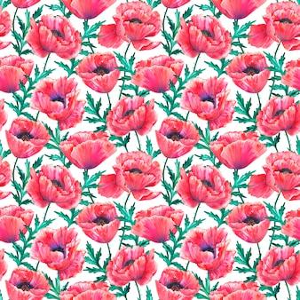 Atercolor ilustração desenhada mão isolada no fundo branco. textura para impressão, tecido, têxtil, papel de parede.
