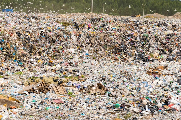 Aterro municipal para resíduos domésticos