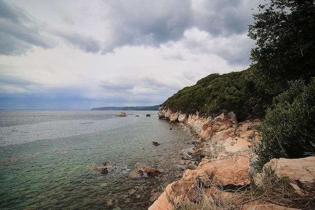 Athos grécia mar mar.