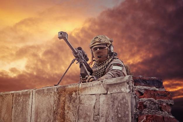 Atirador do exército dos eua