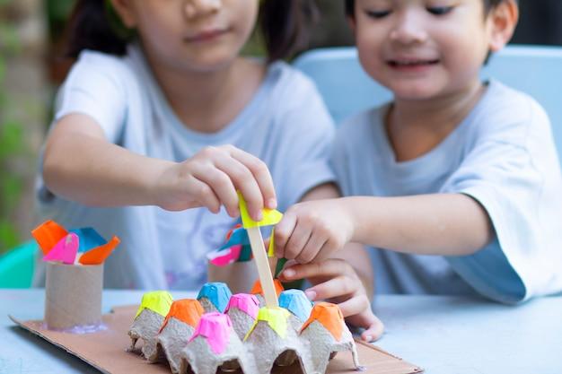 Atividade em casa para crianças