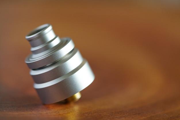 Atomizador de gotejamento reconstruível para dispositivo de vaporização engrenagem vaporizador de foco seletivo
