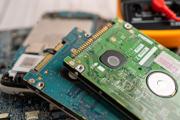 Atualização de hardware de tecnologia eletrônica de computador de placa principal de micro-circuito