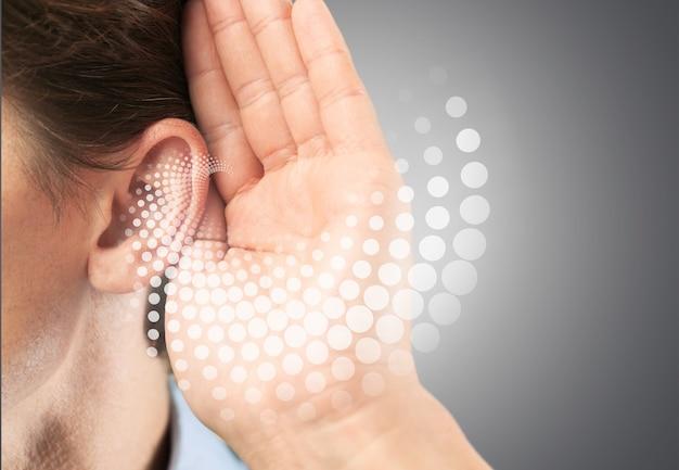 Audição de perda de teste de som ajuda a transtorno adulto
