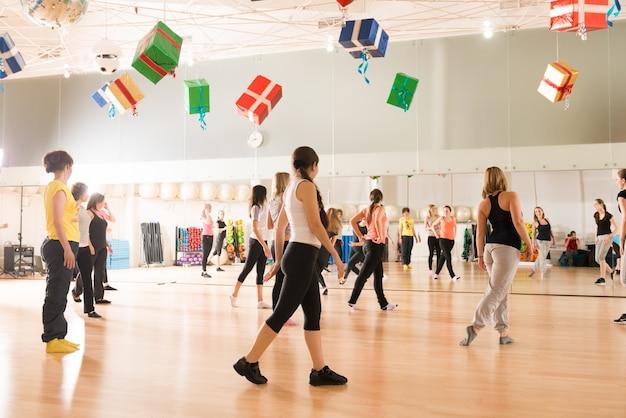 Aula de dança para mulheres