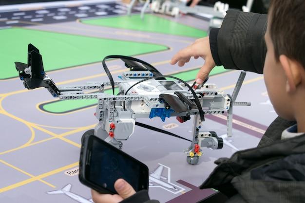 Aulas de robótica