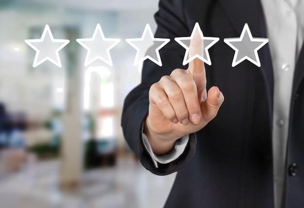 Aumentar o conceito de avaliação de revisão de classificação