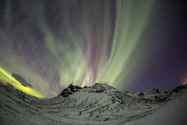Aurora boreal da aurora boreal