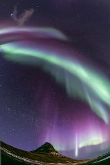 Aurora borealis islândia