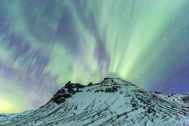Aurora da luz do norte