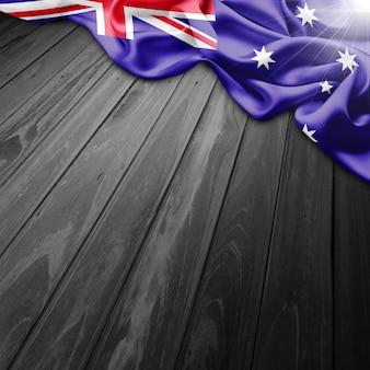 Austrália fundo da bandeira
