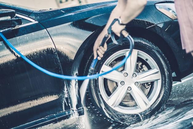 Auto-lavagem de carro
