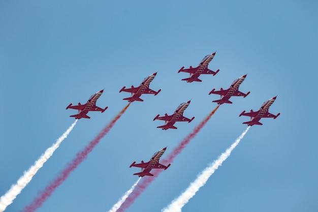 Avião northrop freedom lutador das estrelas turcas