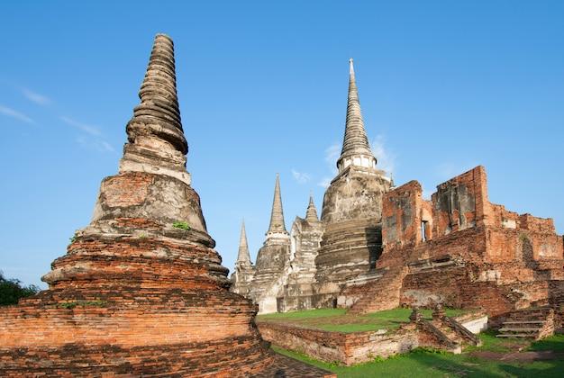 Ayutthaya, templo de phra nakhon sri ayutthaya