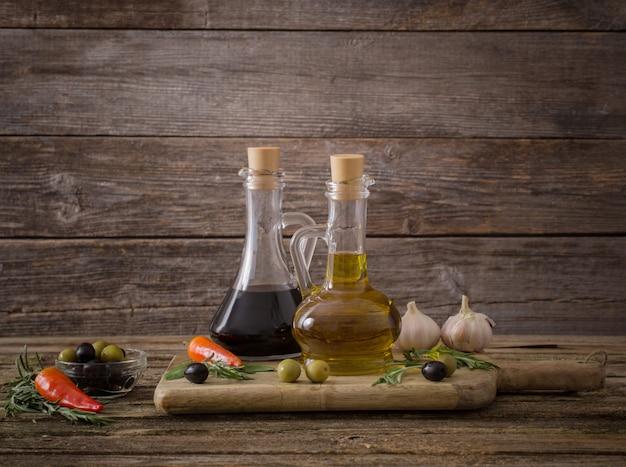 Azeite aromatizado com especiarias e outros ingredientes