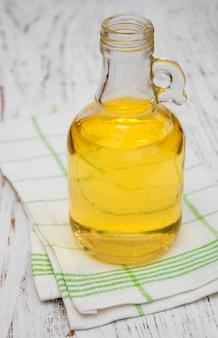Azeite de oliva em garrafa