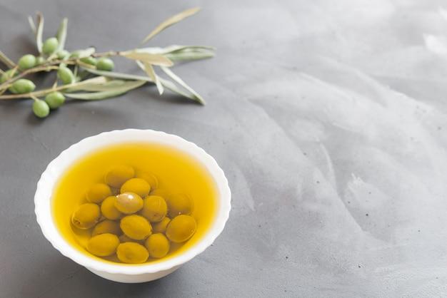 Azeite de oliva típico espanhol