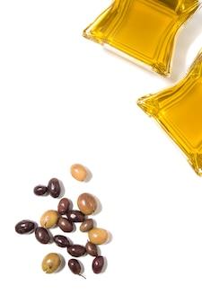 Azeitonas com azeite
