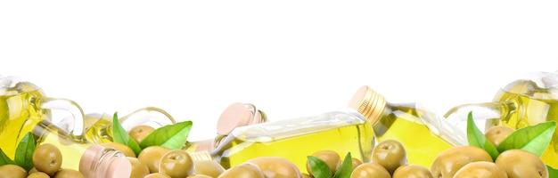 Azeitonas frescas de azeite