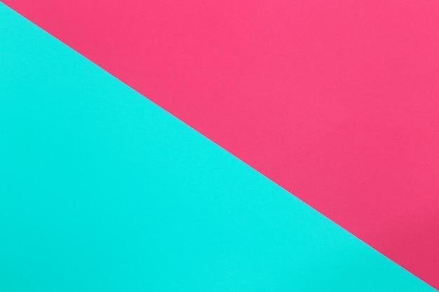 Azul e rosa de papel de arte de papelão.