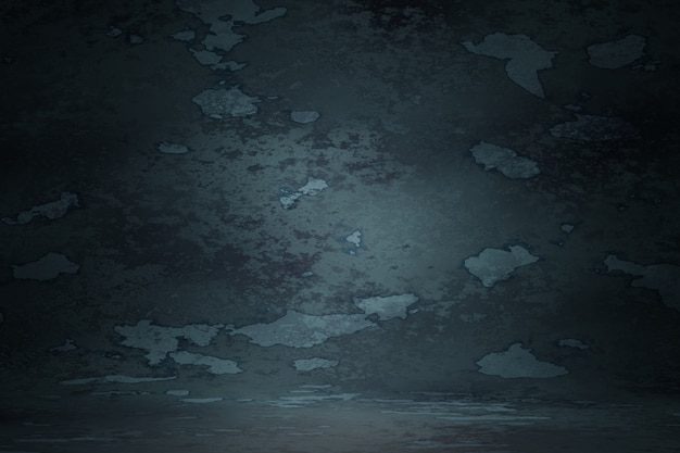 Azul escuro vintage textura parede risco turva mancha fundo