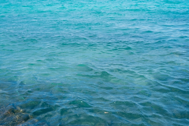 Azul visão horizontal de férias suave