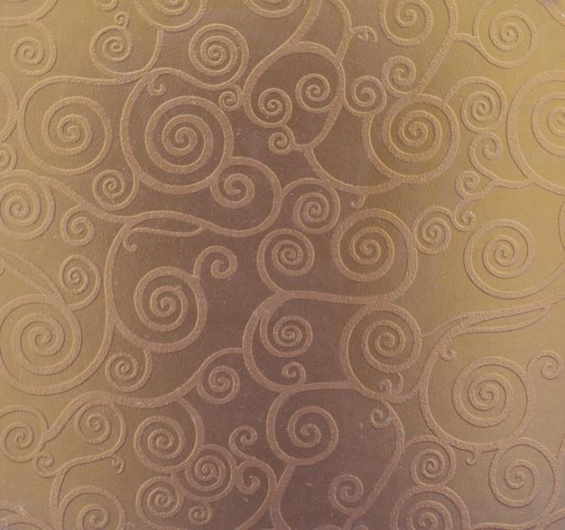 Azulejo de textura de cozinha com padrão ornamental de folha