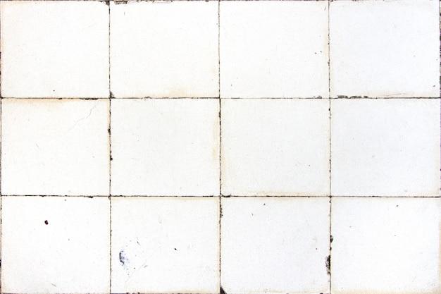 Azulejos brancos quadrados