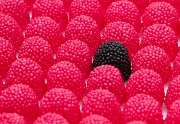 Backgorund doces vermelhos