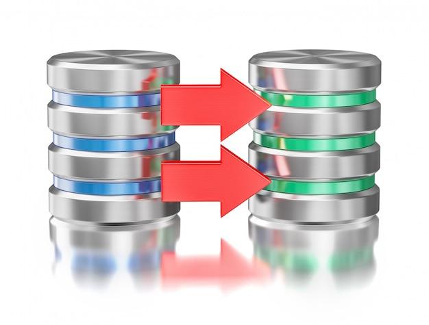 Backup de banco de dados com servidores