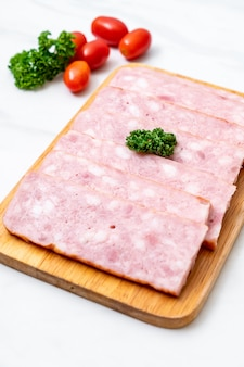 Bacon bacon fatiado