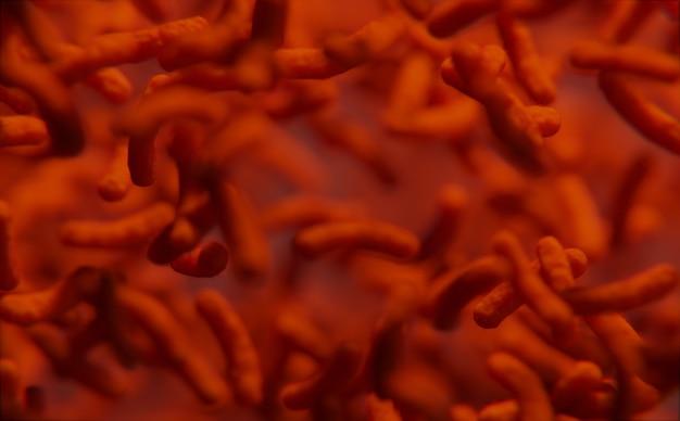 Bactéria vermelha