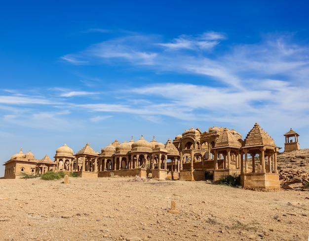 Bada bagh, jaisalmer, rajastão, índia