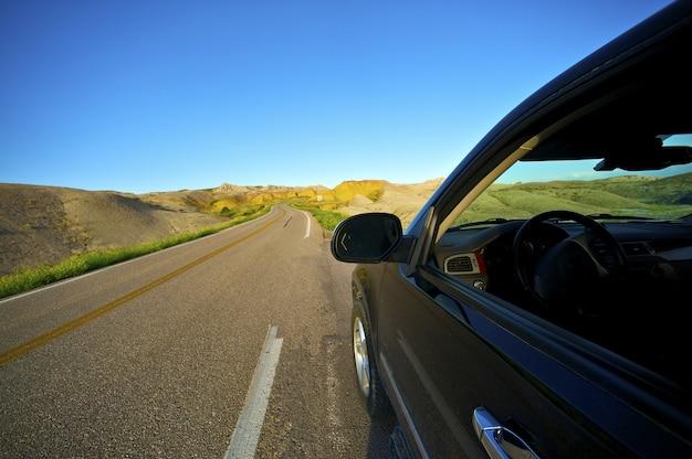 Badlands drive through