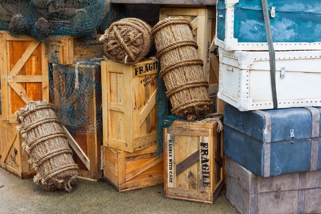 Bagagem vintage