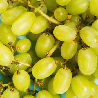 Bagas de uvas maduras doces