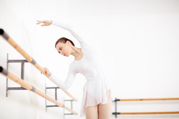 Bailarina na aula