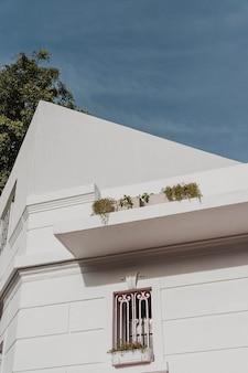 Baixo ângulo da estrutura arquitetônica da cidade