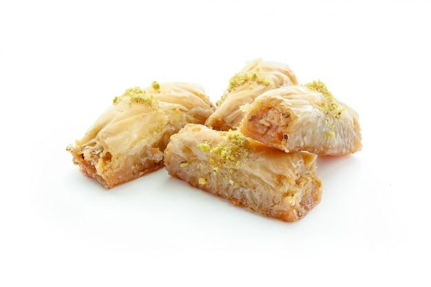 Baklava turco da sobremesa do ramadã