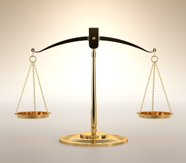 Balança da justiça