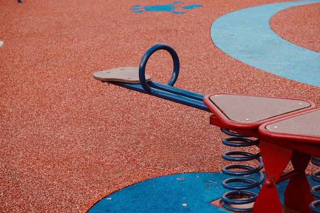 Balançar no playground