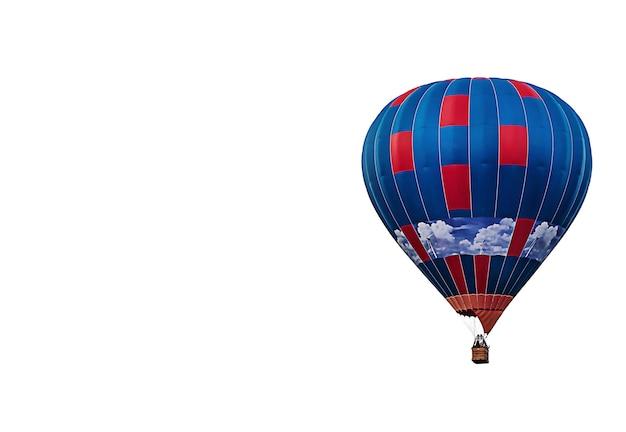 Balão de ar quente com espaço de cópia