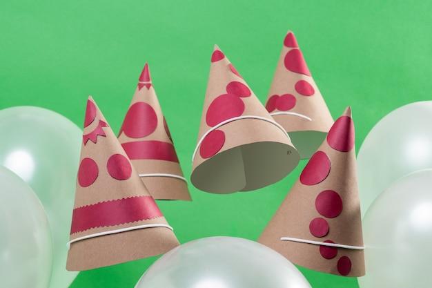 Balão e chapéu