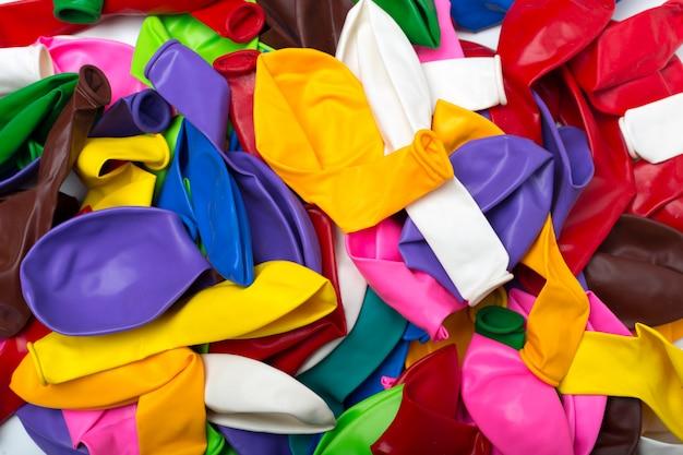 Balão não inflado isolado