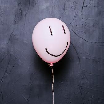 Balão rosa