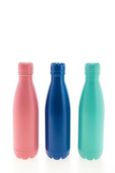 Balão vazio inoxidável e garrafas