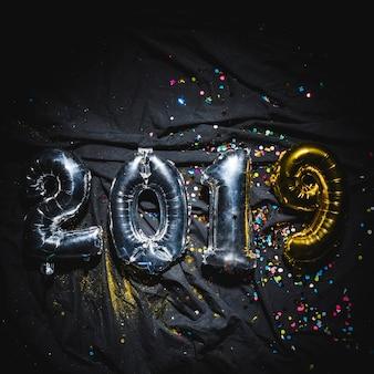 Balões brilhantes 2019
