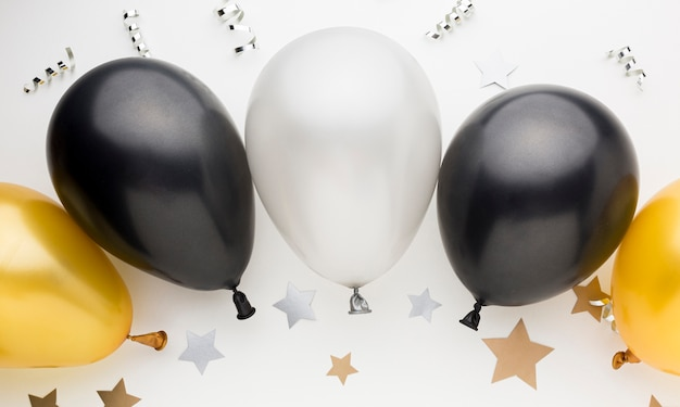 Balões coloridos para festa