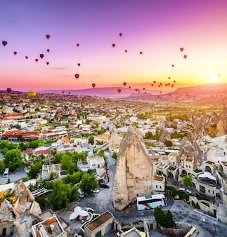 Balões de ar quente na capadócia