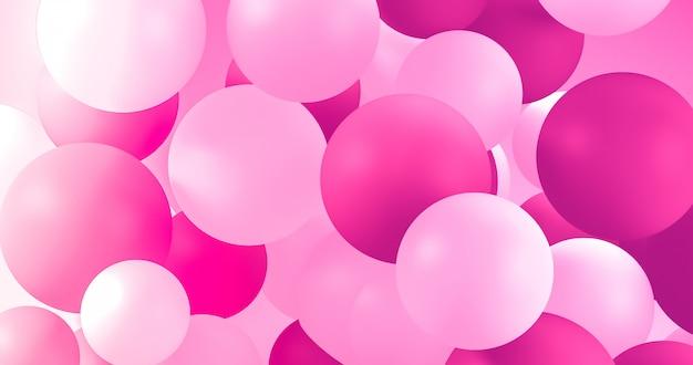 Balões geométricos para férias, celebração, plano de fundo do evento.